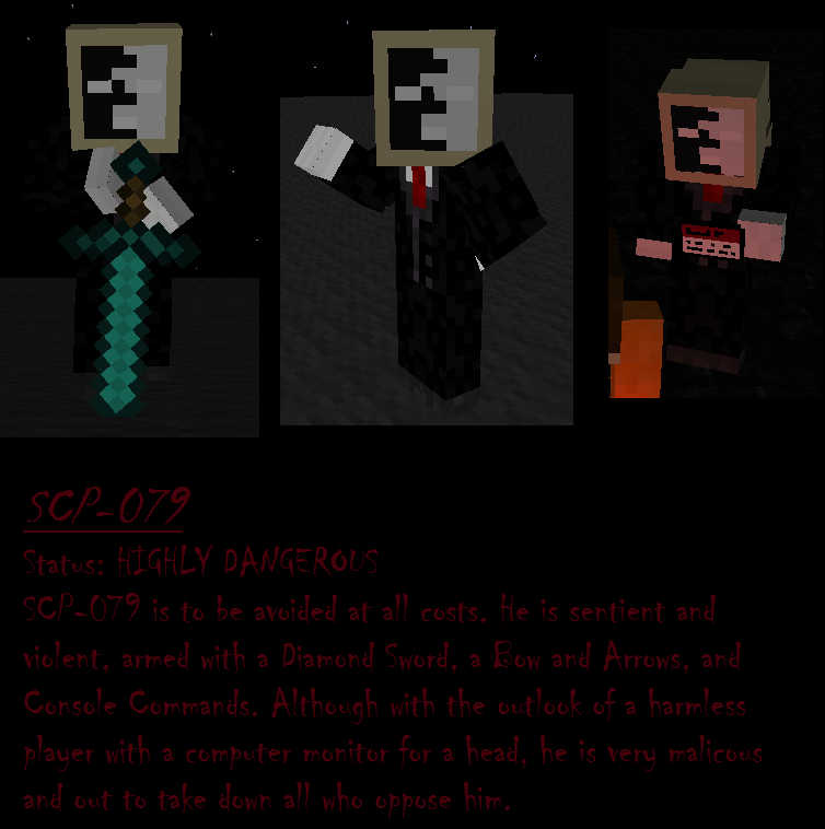 All scp skins for minecraft