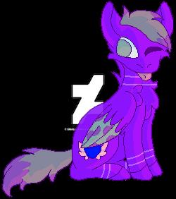Purple Satin [gift] by SmallerWolf