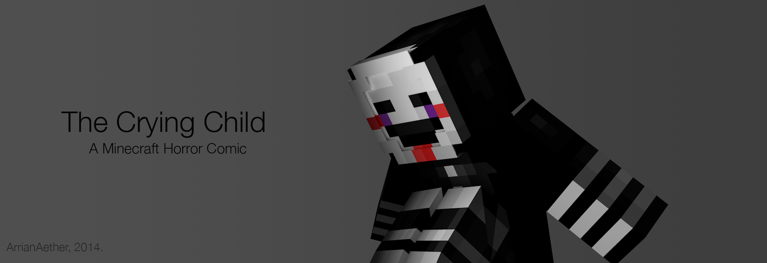 The crying child a minecraft fnaf horror comic by arrianaether on