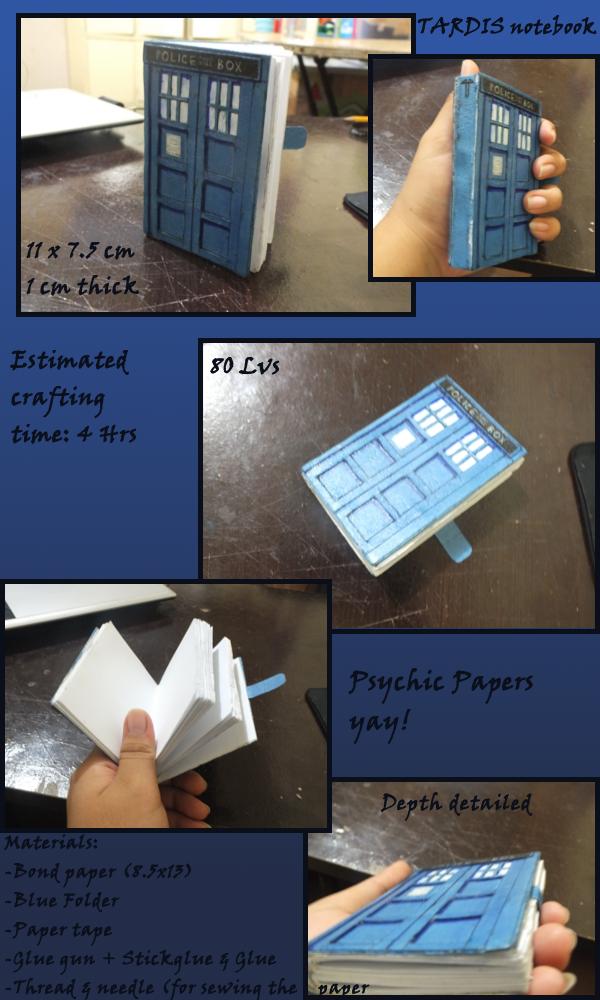 TARDIS Notebook by xilenobody143