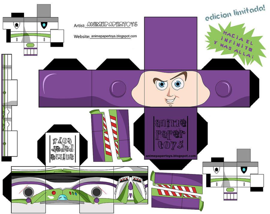 Buzz Lightyear Cubeecraft by snuffle12321 on DeviantArt