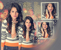Selena Gomez by ladyLone