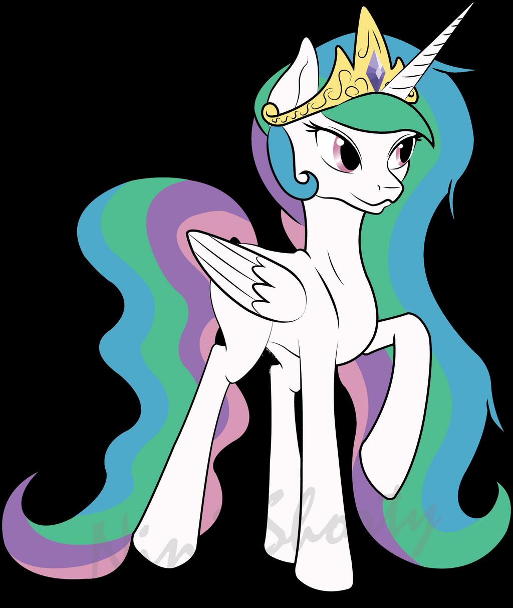 Princess Celestia Vector by NinjaShorty