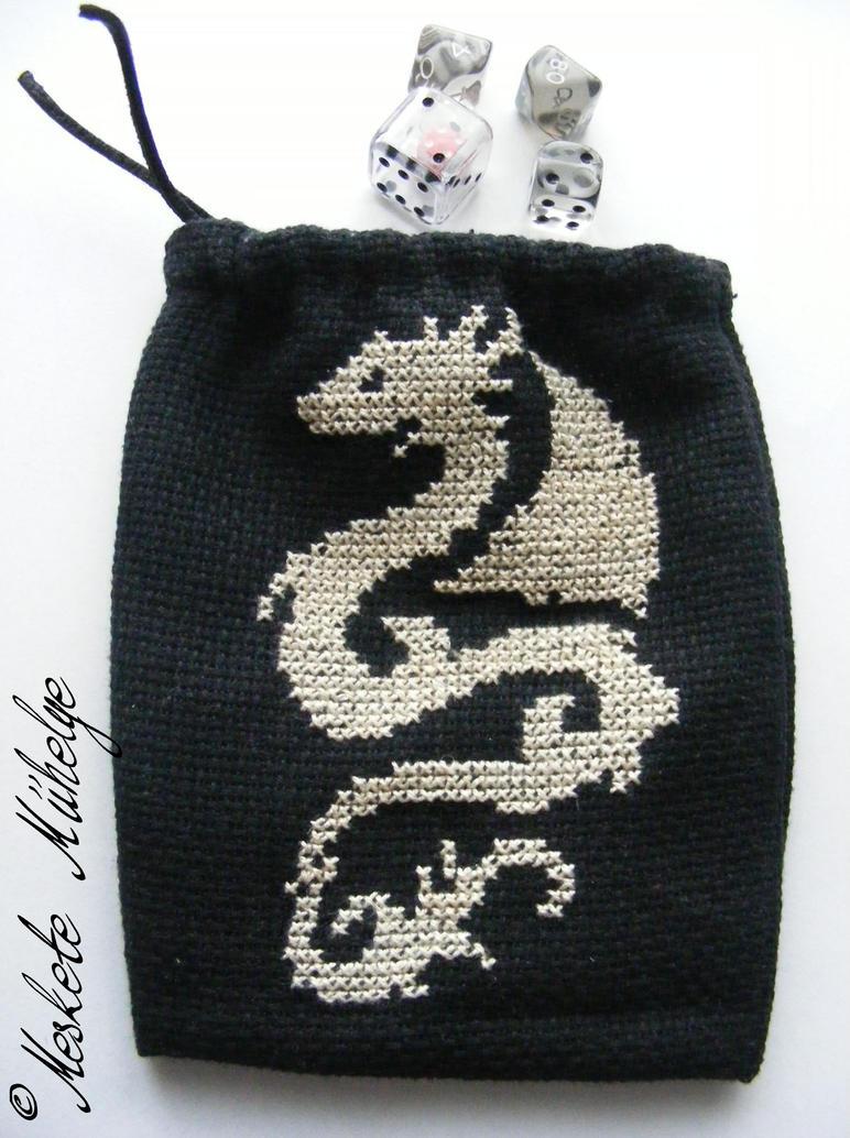 Dragon Dice Bag by automatonaliza
