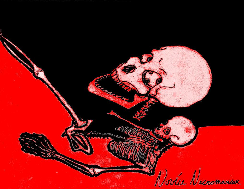 Red Skeleton by YourWaywardDestiny