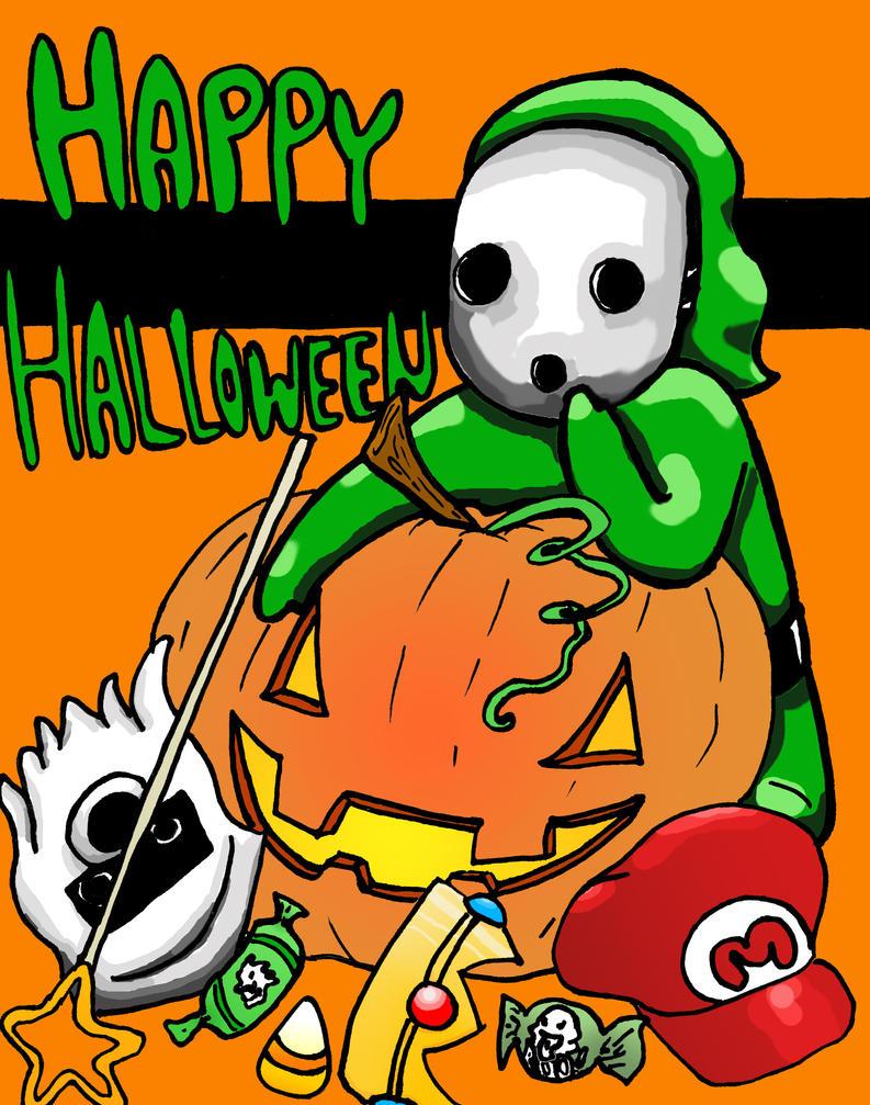 Happy Halloween by YourWaywardDestiny