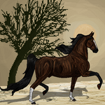 Saddlebred pixel