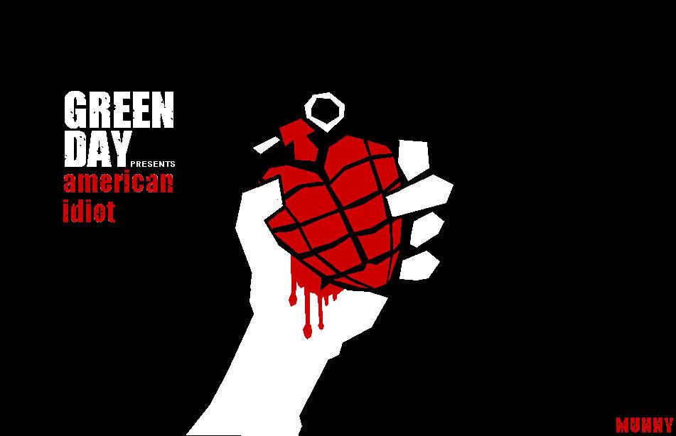 Green Day American Idiot Logo by ninjaGurung on DeviantArt