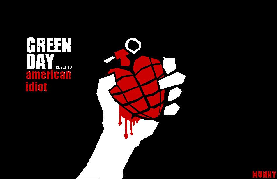 Green Day American Idiot Logo by ninjaGurung