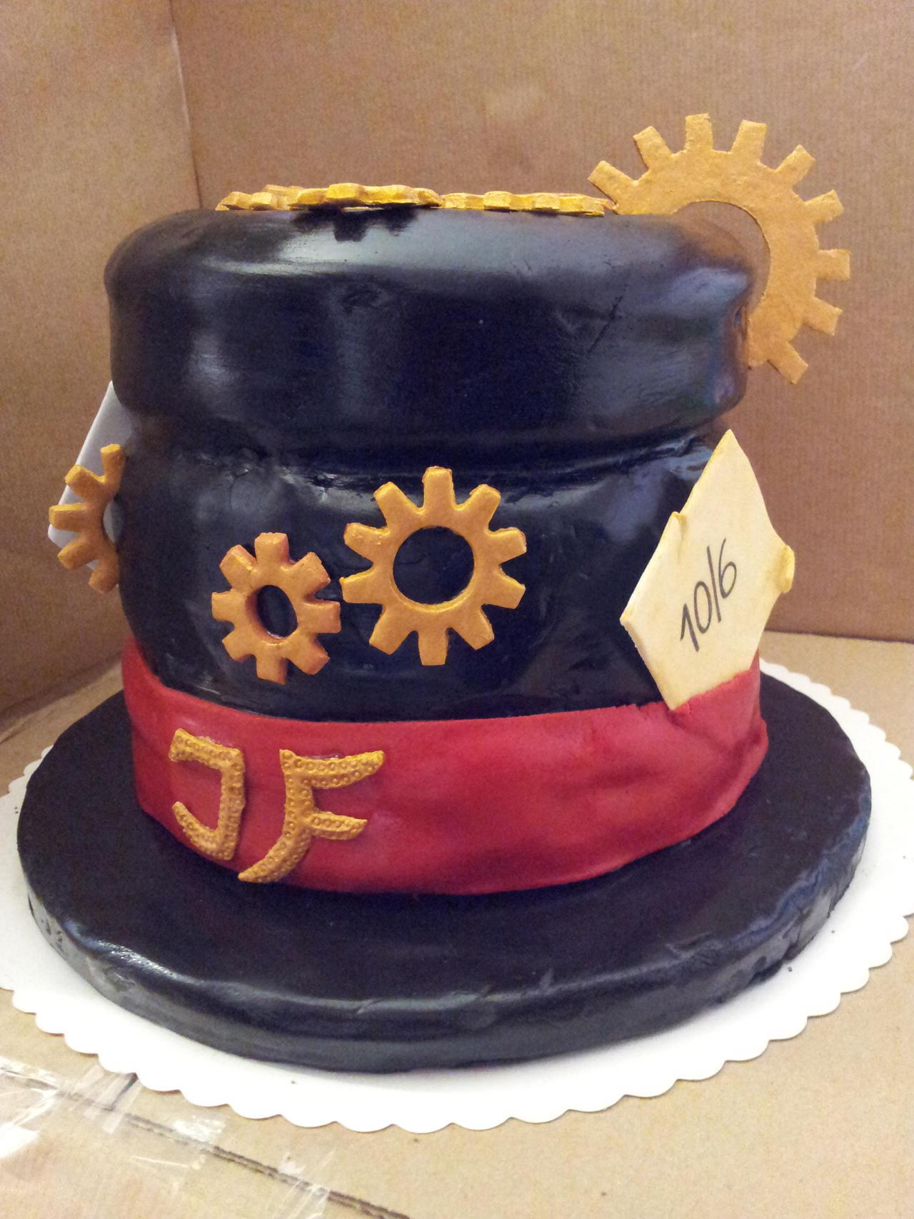 Steampunk Birthday Cake Recipes