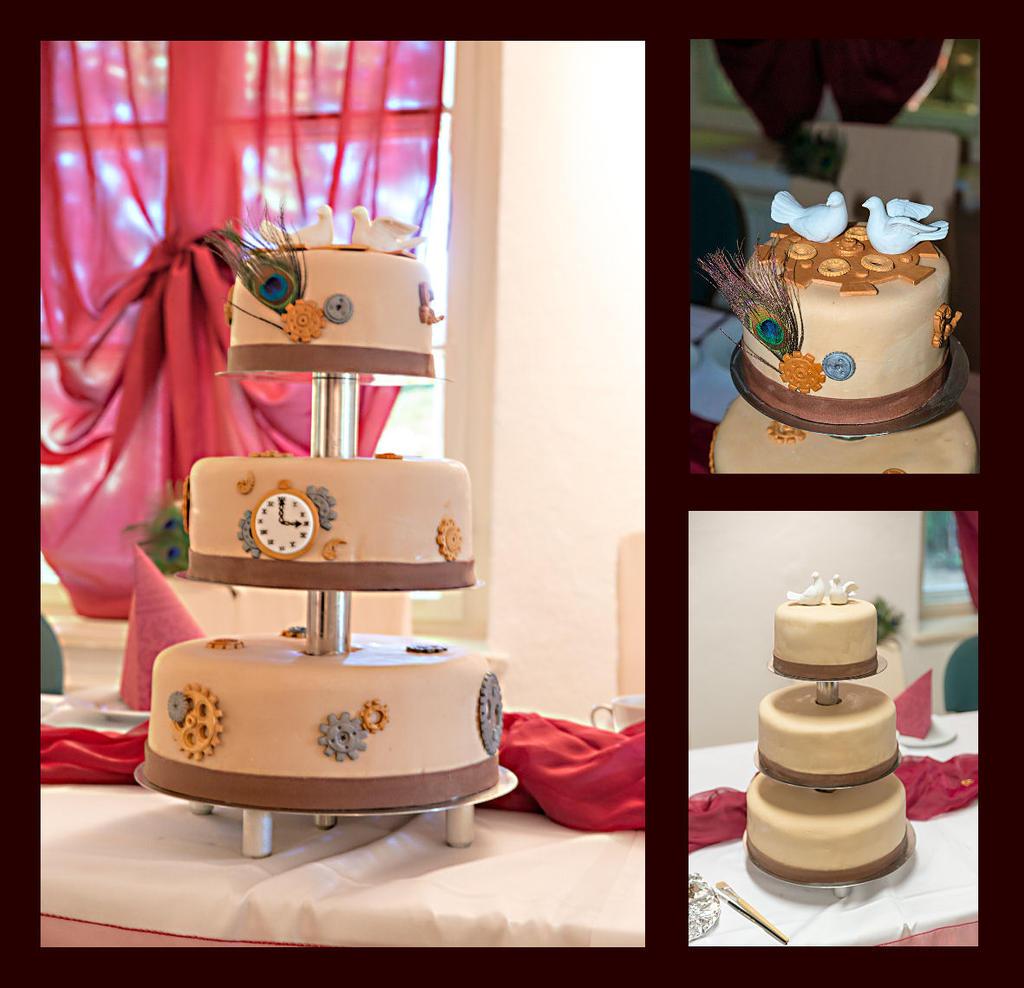 Cake Decoration Naked Drip Maccaron