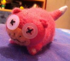 Pokemon: Mini Slowpoke Plush by Jack-O-AllTrades