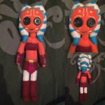 Star Wars: The Clone Wars - Ashoka Tano Plush by Jack-O-AllTrades