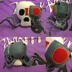 Warhammer - Life Sized Servo Skull Plush by Jack-O-AllTrades