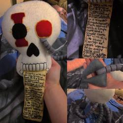 Warhammer - Life Sized Servo Skull Plush 2.0 by Jack-O-AllTrades
