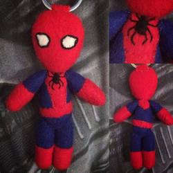 Marvel - Spider-Man Keychain Plush by Jack-O-AllTrades
