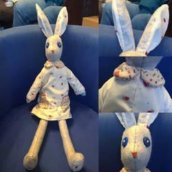 Sarah Peel - Luna Lapin Bunny Plush by Jack-O-AllTrades