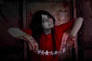 Corpse party(Tortured souls)-Shinozaki Sachiko by DarkInquisitor666