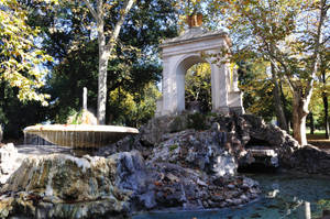 Fountain in Villa Borghese