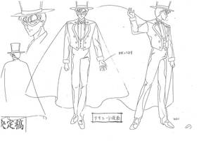 Tuxedo Mask Model Sheet by chewychomp