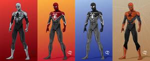 Spider-Man:Webhead 2.0 designs