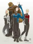 Fantastic Four costume redesign