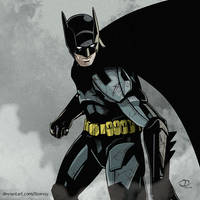 Batman by Tloessy