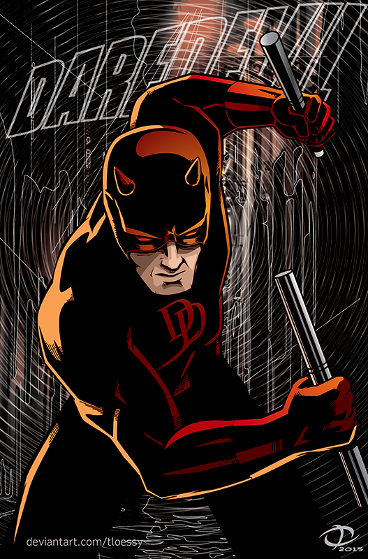 Daredevil by Tloessy