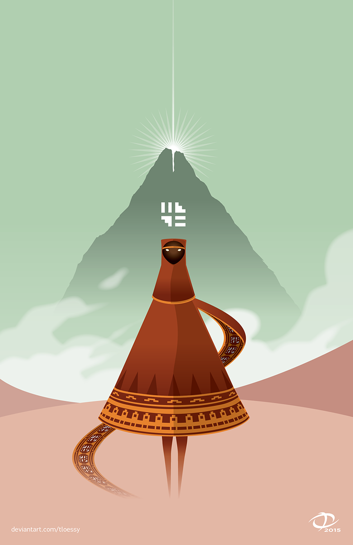 Journey Poster by Tloessy