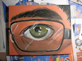 Acryl Auge