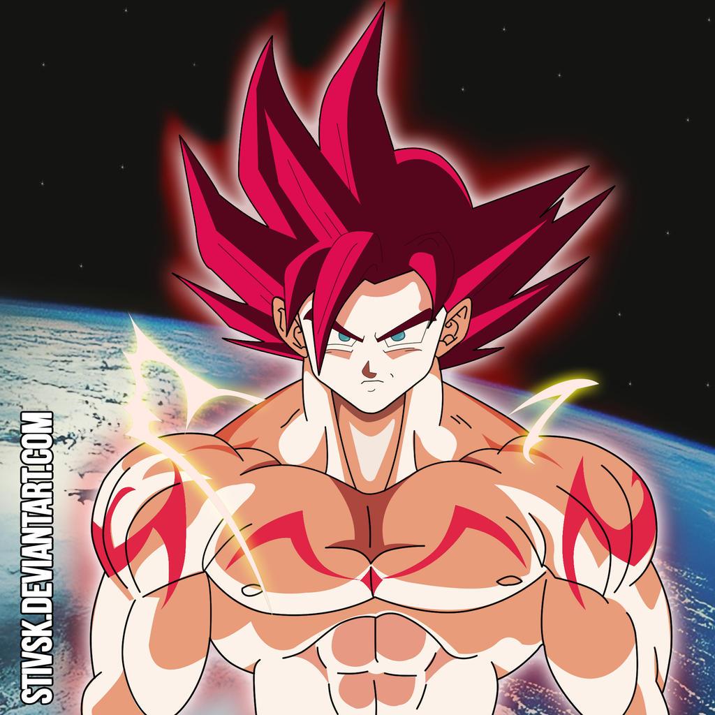5 Nuevas Fotos De Goku Ssj Fase Dios Con Efectos