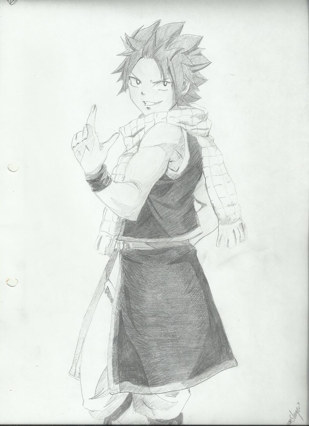 Natsu dragneel by becmart03