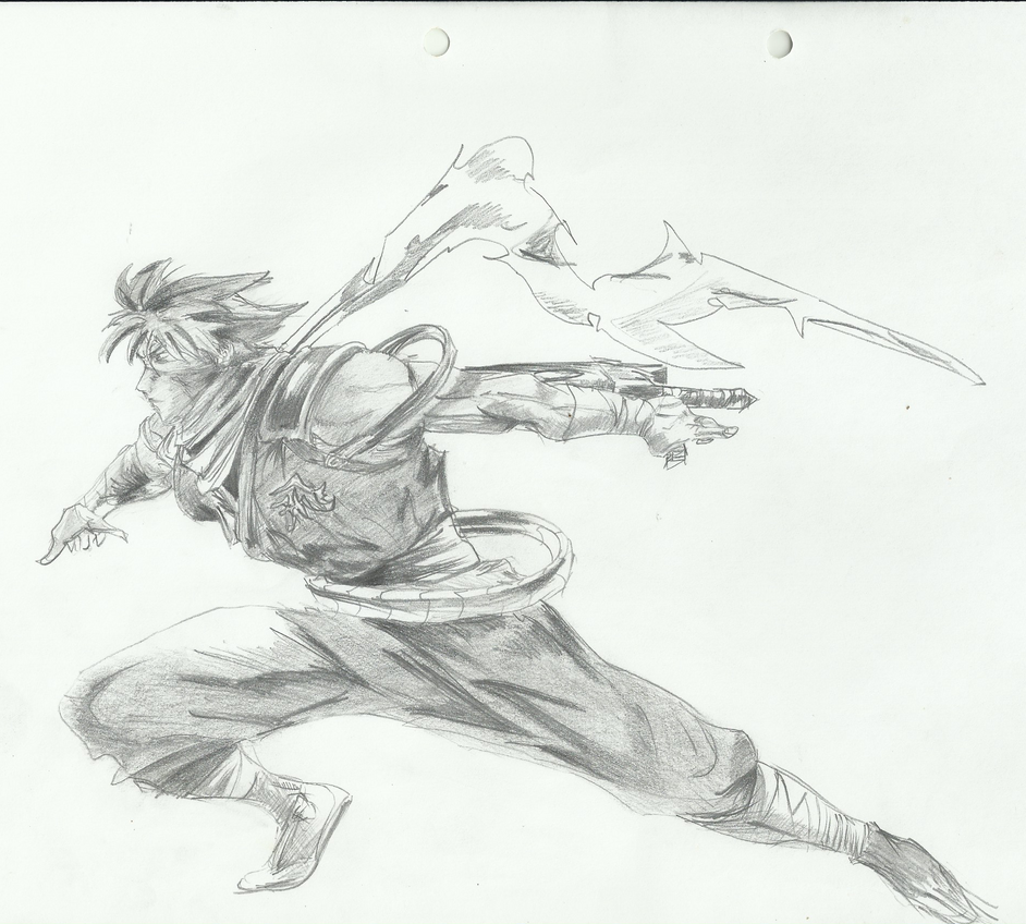 Strider Hiryu From Strider by becmart03