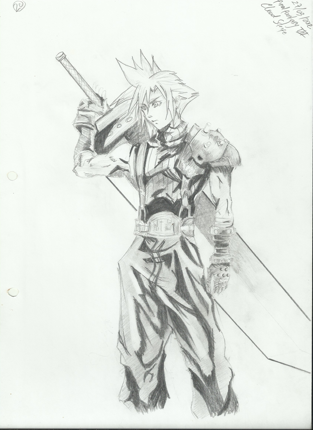 Cloud Strife From Final Fantasy by becmart03