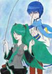 Kaito and Miku: Hapiness