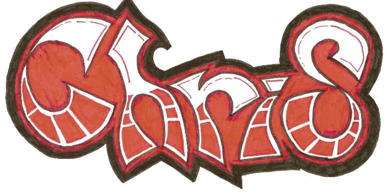 Image Gallery name chris in graffiti