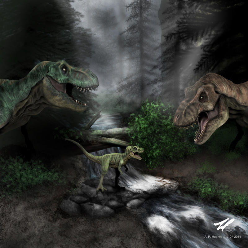 t rex family by sstb25 on deviantart