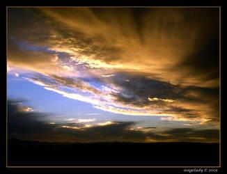 Sunset Rage by osagelady