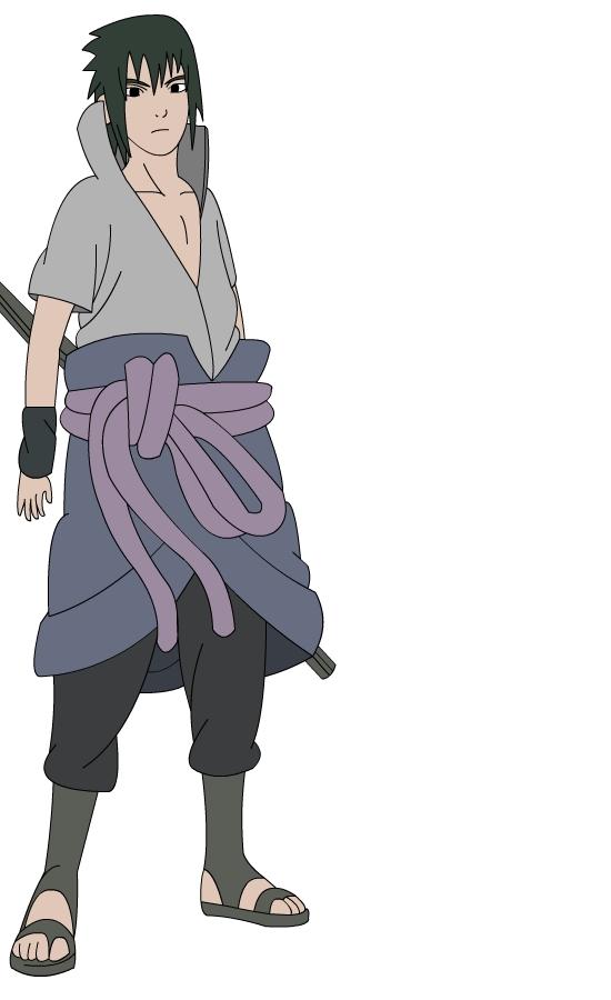 How To Draw Sasuke Hebi
