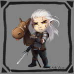 Geralt of Rivia the White Wolf