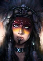 Druidess by NikiVaszi