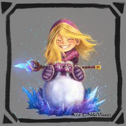 Snow fight? by NikiVaszi