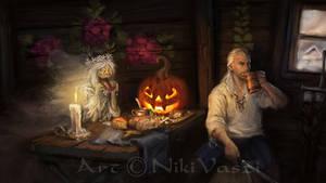 Halloween True Love by NikiVaszi