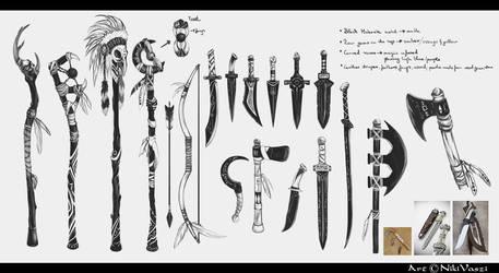 Black Blades Concepts07 by NikiVaszi