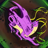 [Personal] Dragcave purple by Aliena-Cordis