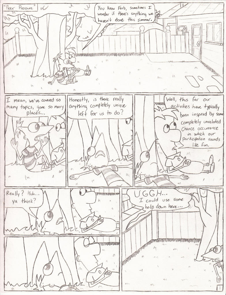 Peer Pressure - Page 1 by Catula