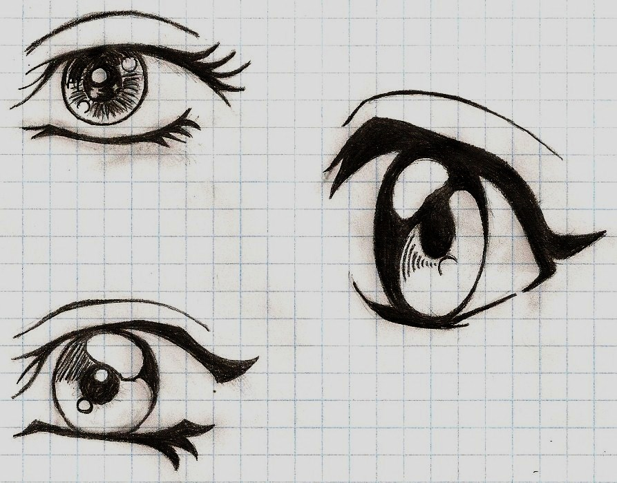Anime Female Manga Eyes - Hot Girls Wallpaper