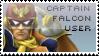 Captain Falcon Stamp by yukidarkfan