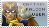 Captain Falcon Stamp by yukidarkfan