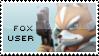 Fox Stamp by yukidarkfan